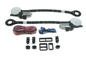 4101-09-S98  COLIBRI STAR 3 SWITCH FLUSH MOUNT UNIVERSAL POWER WINDOW KIT