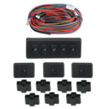 4990-50-227  UNIVERSAL 4 DOOR ILLUMINATED SWITCH KIT