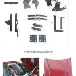 80500 POWER REVERSE HOOD BRACKET KIT FOR 96-00 HONDA CIVIC