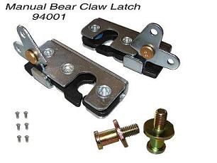 94001 MANUAL BEAR CLAW LATCH