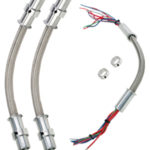 94201 NEW STYLE BILLET WIRE LOOMS WITH SLIP-ON-COLLARS