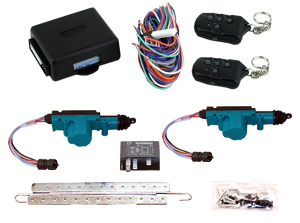 95151 2 DOOR LOCK KIT WITH 99920 12 CHANNEL KEYLESS ENTRY