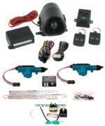 95165 2 DOOR MES LOCK KIT LK01-10-122 WITH 95430 STANDARD ALARM & TRUNK KIT TK01-00-001