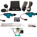 95170  2 DOOR MES LOCK KIT LK01-10-122 WITH 99900 4 CHANNEL KEYLESS ENTRY & TK01-00-001 TRUNK KIT