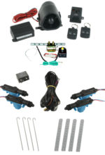 95175  4 DOOR MES LOCK KIT LK01-50-123 WITH 95430 STANDARD ALARM & TRUNK KIT TK01-00-001