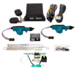 95180 2 DOOR MES LOCK KIT LK01-10-122 WITH 99910 6 CHANNEL KEYLESS ENTRY & TK01-00-001 TRUNK KIT