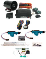 95185  2 DOOR MES LOCK KIT LK01-10-122 WITH 95700 COMBINATION ALARM & REMOTE START WITH TRUNK KIT TK01-00-001