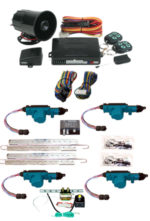 95195 4 DOOR MES LOCK KIT LK01-50-123 WITH 95700 COMBINATION ALARM & REMOTE START WITH TRUNK KIT TK01-00-001