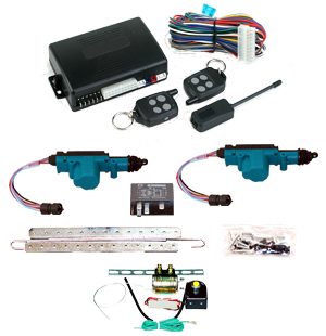 95205  2 DOOR MES LOCK KIT LK01-10-122 WITH 95600 REMOTE START AND TRUNK KIT TK01-00-001