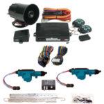 95206 2 DOOR MES LOCK KIT LK01-10-122 WITH 95700 COMBINATION ALARM & REMOTE START