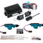 95207  2 DOOR MES LOCK KIT LK01-10-122 WITH 95600 REMOTE START