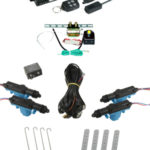 95210 4 DOOR MES LOCK KIT LK01-50-123 WITH 95600 REMOTE START AND TRUNK KIT TK01-00-001