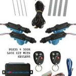 95235 4 Door Lock Kit with 3 Channel Keyless