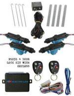 95235 4 Door Lock Kit with 3 Channel Keyless