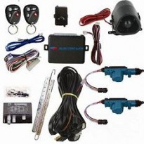 95339 2 Door Jeep Lock Kit with Keyless and Alarm