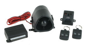 95430 MULTI FUNCTION ALARM WITH SIREN AND DUAL ZONE SHOCK SENSOR