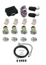 99012 HEAVY DUTY 60LB 4 DOOR SHAVED HANDLE KIT WITH 5 CHANNEL KEYLESS ENTRY