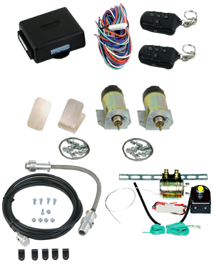 99080 HEAVY DUTY 60LB SHAVED HANDLE KIT WITH 16 CHANNEL KEYLESS ENTRY