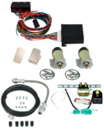 99090   2 DOOR SHAVED HANDLE KIT WITH 60LB SOLENOIDS AND 4 CHANNEL KEYLESS ENTRY