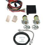 99091   2 DOOR SHAVED HANDLE KIT WITH 60LB SOLENOIDS AND 4 CHANNEL KEYLESS ENTRY