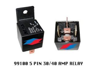 99100 30/40 AMP 5 PIN RELAY