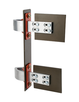 99600 SMALL SUICIDE HINGE KIT, WITH MTG. PLATES