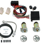 99800 PREMIUM SHAVED DOOR HANDLE KIT WITH 99003 60LB. SOLENOIDS, 99900 4-CHANNEL KEYLESS ENTRY, 99500 THRUSTERS & 94300 EMERGENCY ENTRY KIT