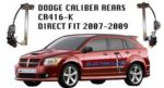 CR416-K DODGE CALIBUR 4 DOOR REARS