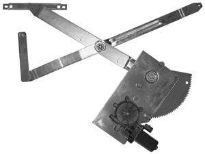FD61-K   2 DOOR FRONT KIT CONTAINS 2 COMPLETE REGULATORS WITH MOTORS ATTACHED