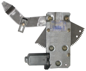 GM104-6769-K    2 DOOR REAR QUARTER KIT CONTAINS 2 COMPLETE REGULATORS WITH MOTORS ATTACHED