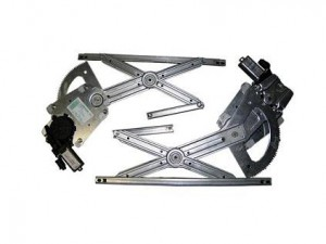 GM114-K 2 DOOR FRONT KIT CONTAINS 2 COMPLETE REGULATORS WITH MOTORS ATTACHED
