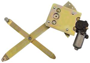 GM47-K    4 DOOR REAR KIT CONTAINS 2 COMPLETE REGULATORS WITH MOTORS ATTACHED