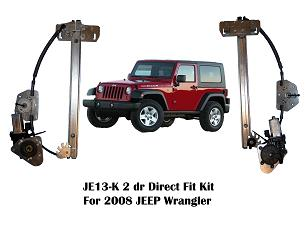 JE13 K JPEG SM1 wrangler 2 door or 4 door fronts power window kit with switches Tundra Power Window Wiring Harness at eliteediting.co