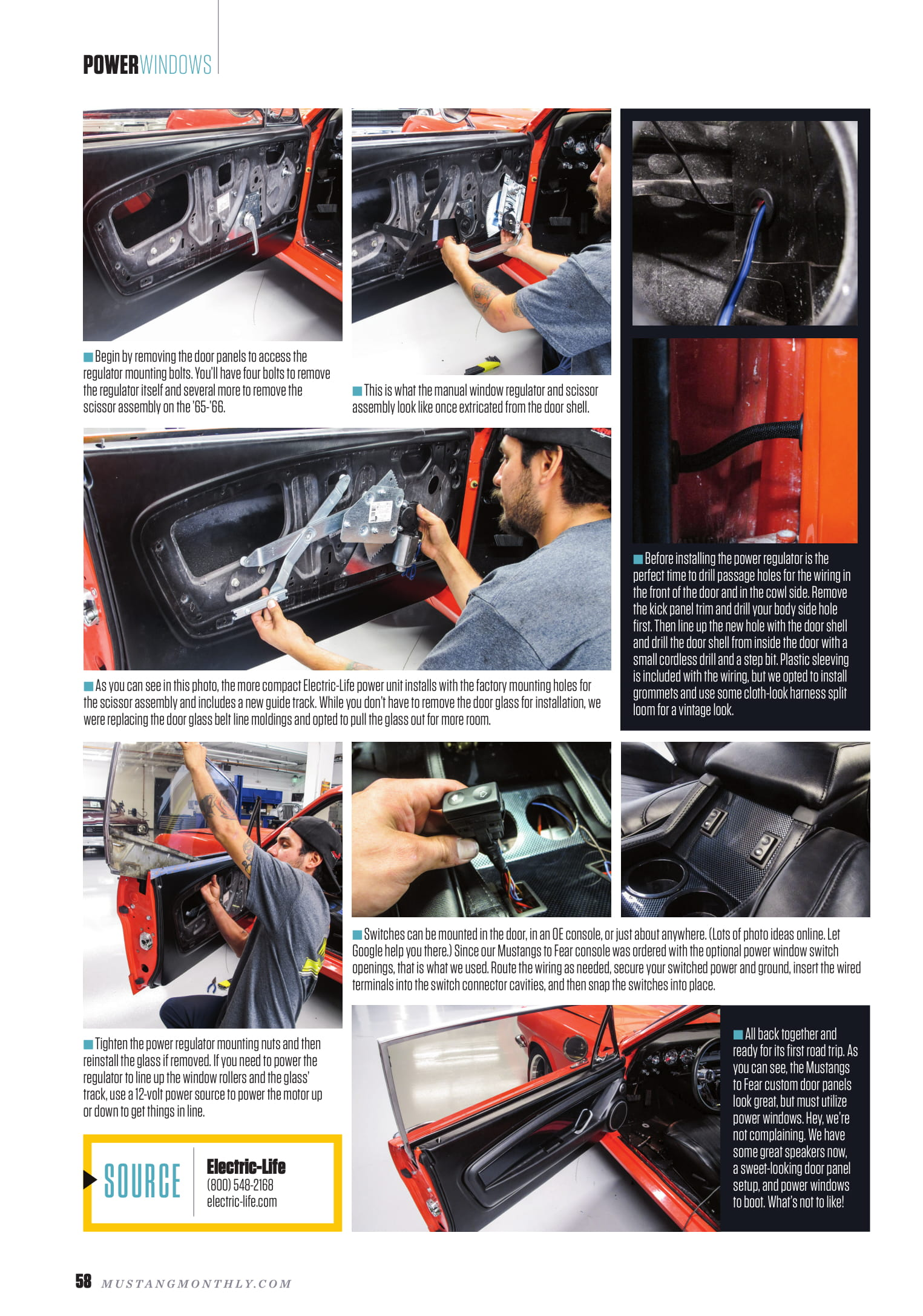 Pro\'s Comments | Electric Life Power Window Systems & Accessories