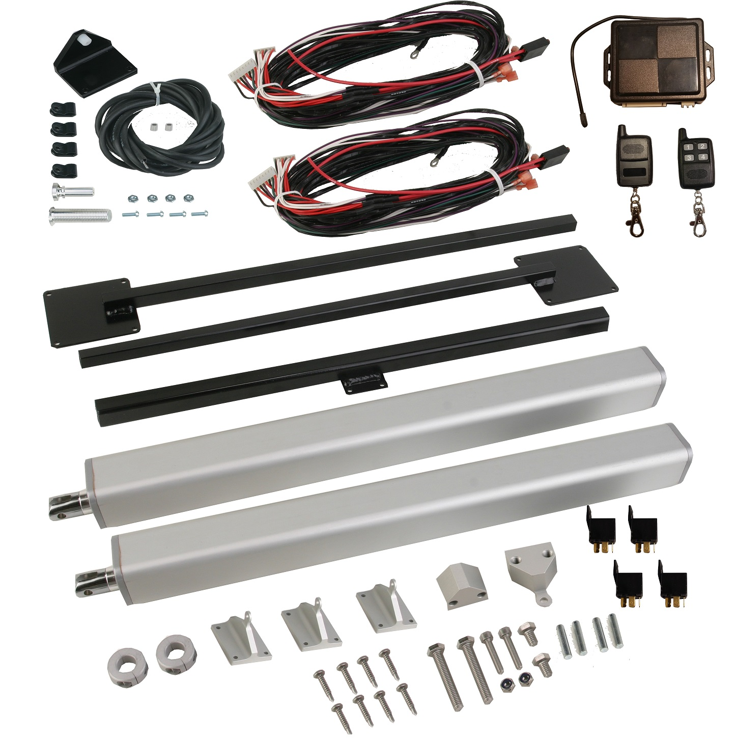 Electric Lift Kits : Tg the ultimate universal tailgate tonneau cover combo
