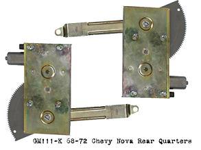 GM111-K 2 Door Rear quarters